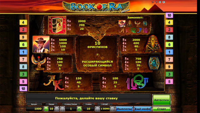 Book of Ra Deluxe 3