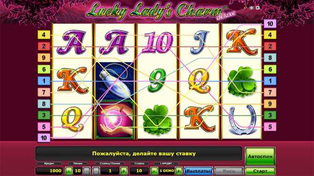 Lucky Lady's Charm Deluxe 1