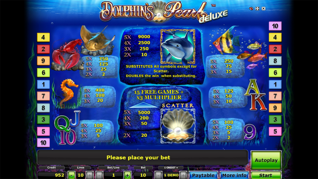 Dolphin's Pearl Deluxe 9